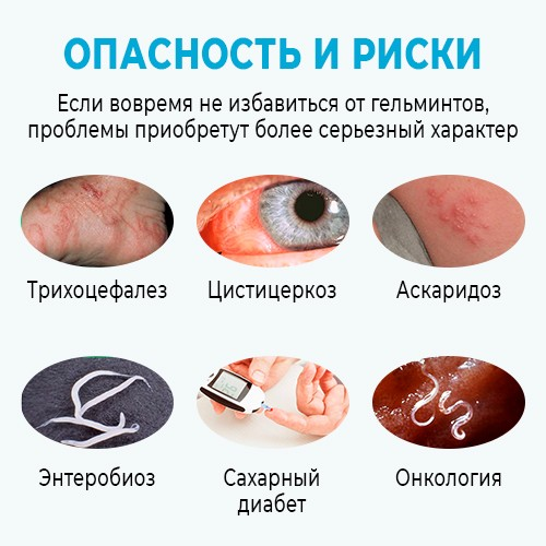 Негативные последствия без приема препарата